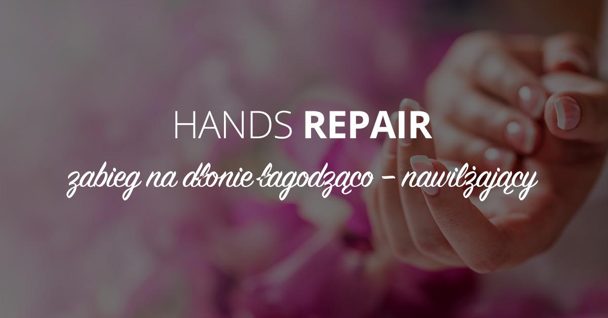 Hands-repair zabieg na dłonie łagodząco–nawilżający