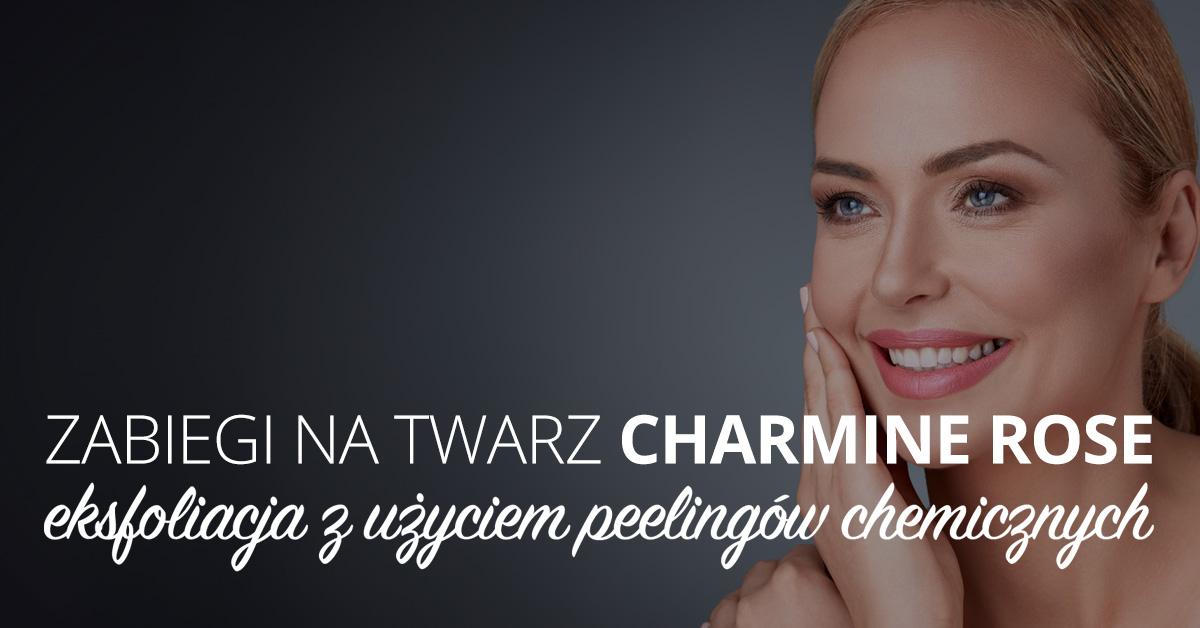 Zabiegi na twarz Charmine Rose