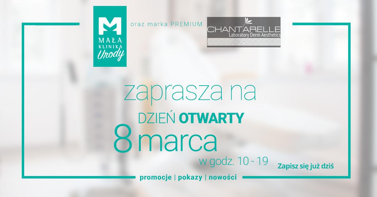 Dzień Otwarty z Chantarelle w salonie Mała Klinika Urody w Gdańsku